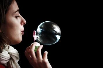 Breath bubble